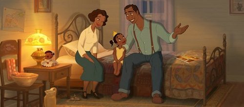 Who are Tiana's parents?