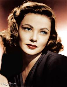 GENE TIERNEY'S PARTNER : China Girl ?