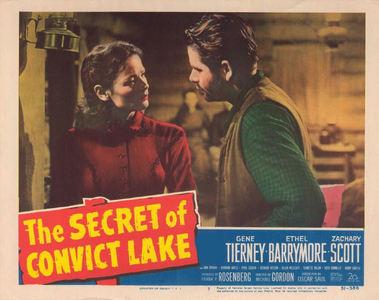 GENE TIERNEY'S PARTNER : The Secret of Convict Lake ?
