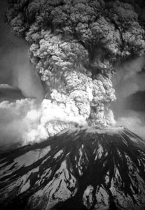 Mount St. Helen's Lost ____ feet of elevation in the May 1980 eruption and spewed forth about one cubic mile of dust, ash and debris.