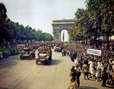 The liberation of Paris in ?