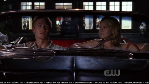 Peyton: Best birthday ever? Lucas: When I was ____