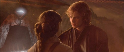 Why did Padme go to Mustafar?