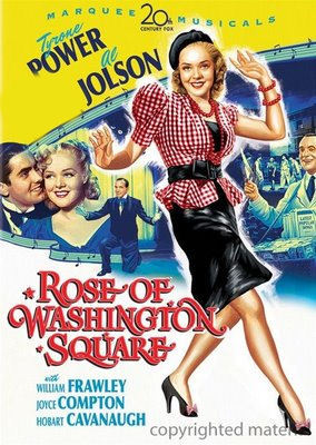 TYRONE POWER'S PARTNER : Rose of Washington Square ?