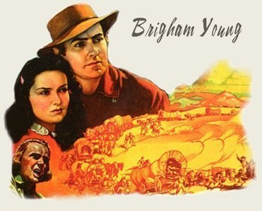 TYRONE POWER'S PARTNER : Brigham Young ?