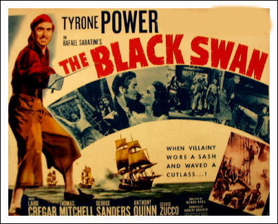 TYRONE POWER'S PARTNER : The Black sisne ?