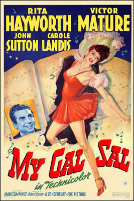 In &#34;My Gal Sal&#34; she played ?