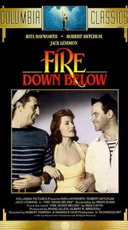 In &#34;Fire Down Below&#34; she played ?