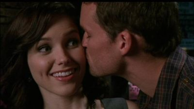 Name the scene: Julian kisses Brooke on the cheek