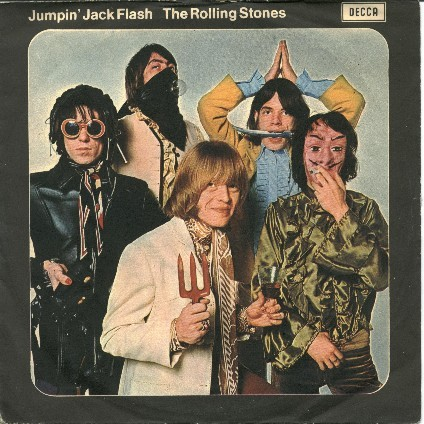 "Who plays bass guitar on the classic 1968 Rolling Stones single ""Jumpin' Jack Flash""?"