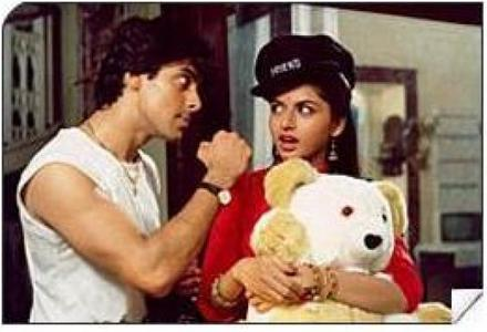 Who was the lead heroine opposite Salman Khan in this movie?