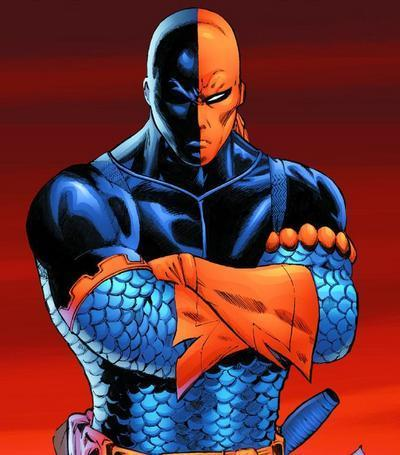 What is Deathstroke's real name ?