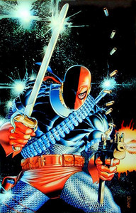 What comic and বছর was Deathstroke's first appearance ?
