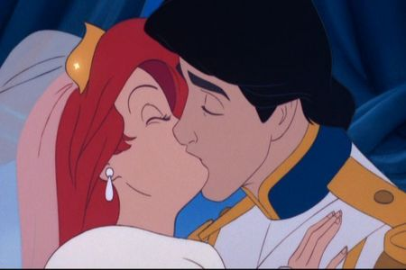 This is a kiss from which Disney film ?