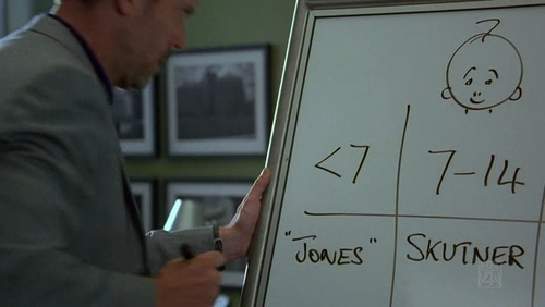 Match the whiteboard to the correct episode. #13