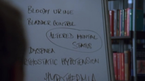 Match the whiteboard to the correct episode. #14