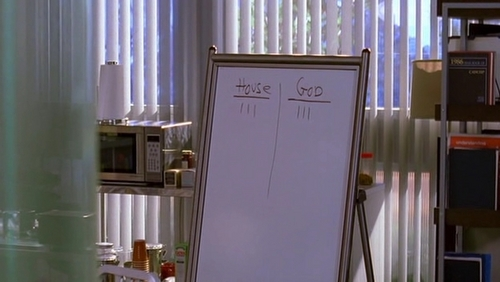 Match the whiteboard to the correct episode. #18