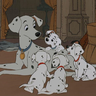 How many chó con did Perdita have in 101 Dalmatians ?