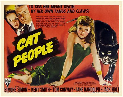 CAT PEOPLE (1942): Irena wants to kill...