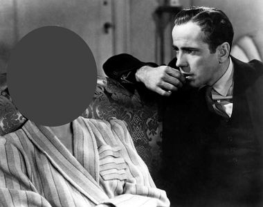 Who is with Bogart ?