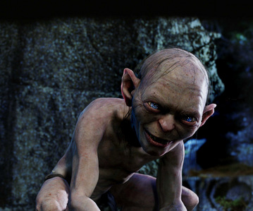 Seeing the character of Gollum in The Lord of the Rings: The Two Towers convinced James Cameron that CGI effects had progressed enough to make Avatar?
