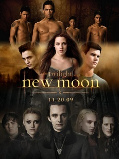 What is official New Moon DVD date?