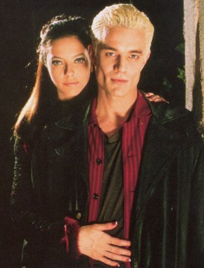 What was the name of the novel featuring Spike and Drusilla?