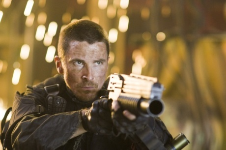 In Terminator Salvation, how did John Connor receive the scar on his face?