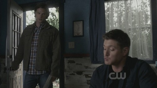 What is Dean eating ?