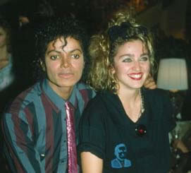 Who is with Michael in the photo?