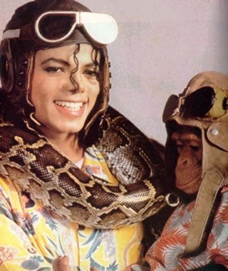 What was Michael's snake name?