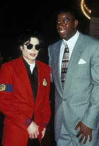 Who is on this picture with Michael ?