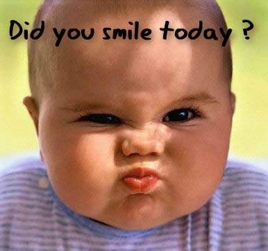 """Complete this quote : """"People seldom notice old ______ if আপনি wear a big smile"""" (by Lee Mildon)"""