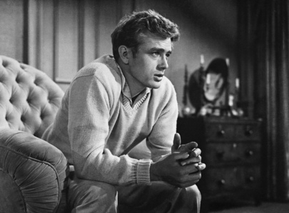 Which movie that starred James Dean in a leading role was the only one to be released during his lifetime ?