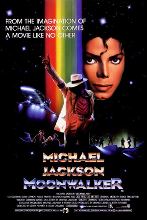 "What is the opening song of ""Moonwalker"" ?"