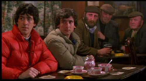 AN AMERICAN WEREWOLF IN LONDON: What is the name of the bar in the middle of the woods?