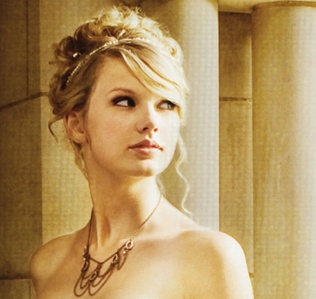 "Who played Taylor's love interest in her music video ""Love Story""?"