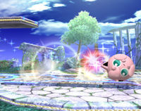 What is jigglypuff's special (B) pindah in Super Smash Brothers Brawl called?