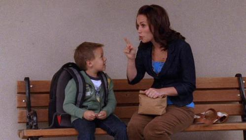 """How many times do Haley and Jamie say """"cahoots"""" in this scene?"""