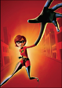 Elastigirl's powers are based on which maarufu superhero's?