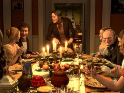 This is a scene from which Christmas film ?