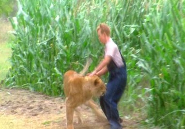 Secondhand Lions - What was the name of the lion ?