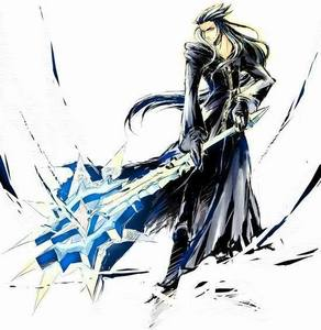What is the name of Saix's weapon?