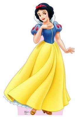 What duty did Snow White assign to herself when she cleaned the house of the seven dwarfs?