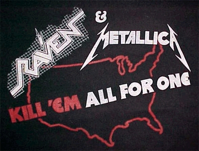 "The ""Kill 'Em All for One"" Tour was in which year ?"