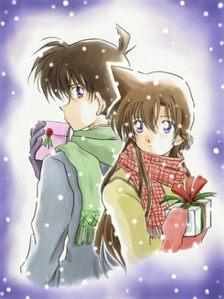 What episode did shinichi accept ran love?