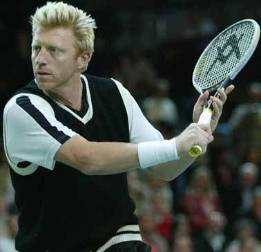 Boris Becker : How many Grand Slam tournament won ?