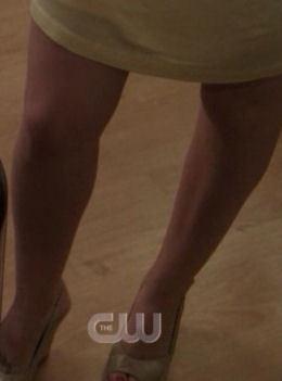 T/F : It's Haley's legs ?