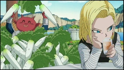 Android 18 is..