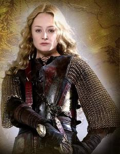 What was Eowyn's alias when she rode with the Rohirrim into battle?
